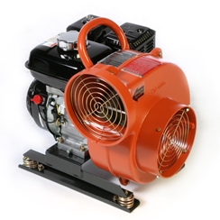 Confined Space Blower, gas
