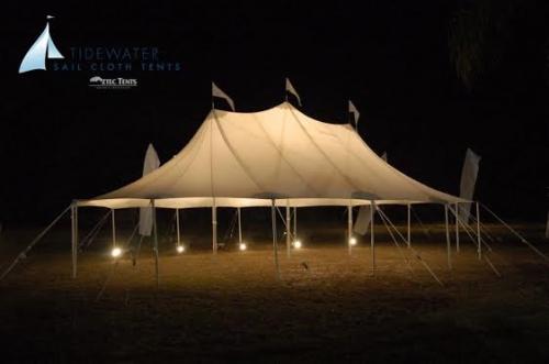 Aztec Sailcloth Tent