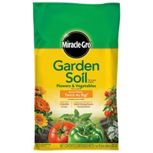 Miracle-Gro® Garden Soil for Flowers & Vegetables