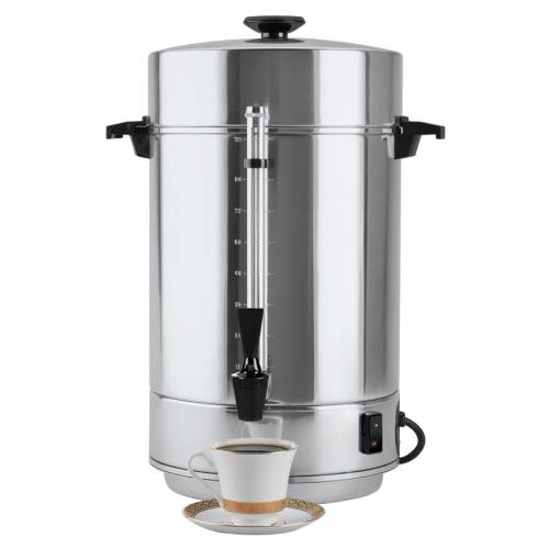 Coffeemaker, 100 cup Aluminum