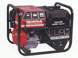 Generator, 5000 watt gas
