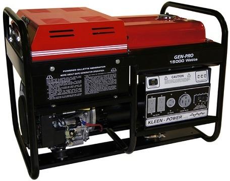 Generator, 15,000 watt gas