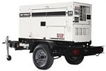 Generator 70,000 watt diesel, towable