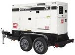 Generator, 150,000 watt diesel, towable