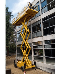 Scissor Lift, 43' Rough terrain, Diesel