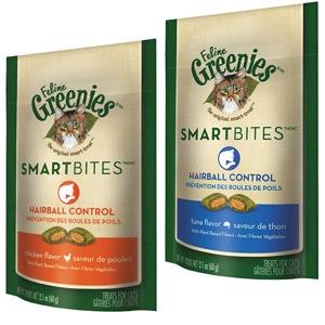 Feline Greenies® Hairball Control Smartbites® Treats