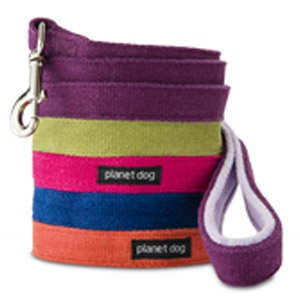 Planet Dog Hemp Leash with Fleece Handle