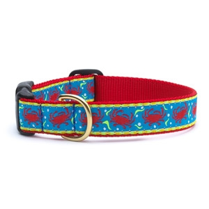 Up Country Crabby Dog Collar