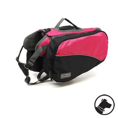 Outward Hound Dog Backpack Pink