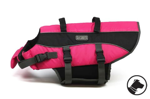 Outward Hound Lifejacket Large Pink
