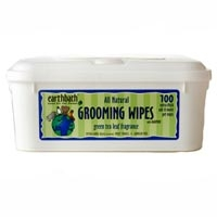 Earthbath Grooming Wipes Green Tea 100 Ct.
