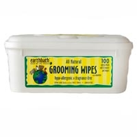 Earthbath Grooming Wipes - Hypo Allergenic Wipes - 100 Ct.