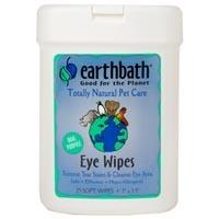 Earthbath Grooming Wipes Eye Wipes 25 Ct.