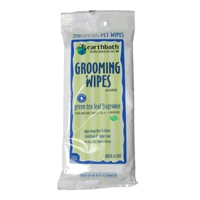 Earthbath Grooming Wipes Green Tea Wipes 28 Ct. Travel Pack