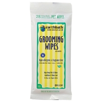 Earthbath Grooming Wipes Hypo Allergenic Wipes 28 Ct Travel Pack