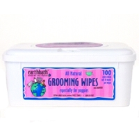Earthbath Grooming Wipes Puppy Grooming Wipes 100Ct