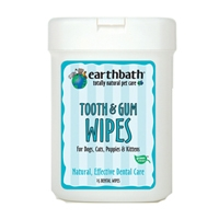 Tooth & Gum Wipes for Dogs, Cats, Puppies & Kittens 25 Ct.