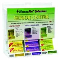HomeoPet Senior Center 15 piece display