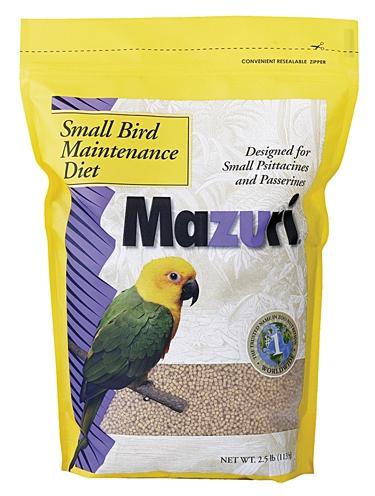 Purina Mills Mazuri Small Bird Maintenance 25lb