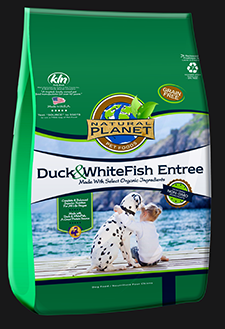 Natural Planet Duck and Whitefish Grain Free Dog Food