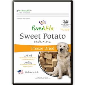Pure Vita Sweet Potato Freeze Dried  Dog Treats