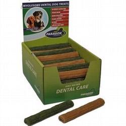 "Paragon Twiggies Dental Dog Treat Large 7"" 60 ct. Display Box"