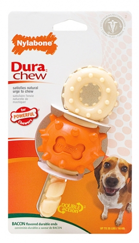 Nylabone Rotating Double Action Chew Wolf
