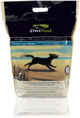 ZiwiPeak Venison & Fish Dog Cuisine 11 lb.
