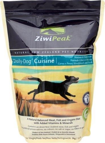 ZiwiPeak Venison & Fish Dog Cuisine 2.2 lb.