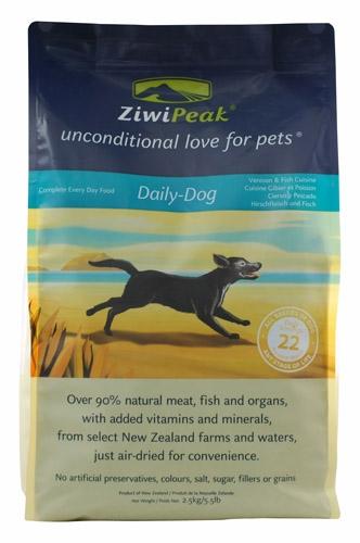 Ziwipk Vns/Fsh Dog Cuisine 5.5#