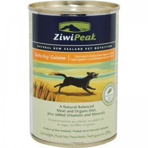 ZiwiPeak Lamb Venison Tripe Cans Dog 12/13 oz.