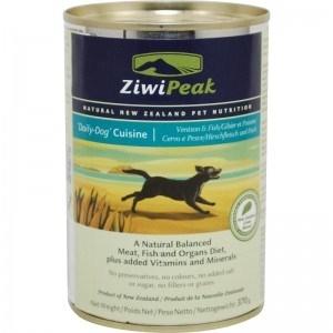 ZiwiPeak Venison & Fish Cans Dog 12/13 oz.