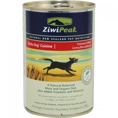 ZiwiPeak Venison Cans Dog 12/13 oz.