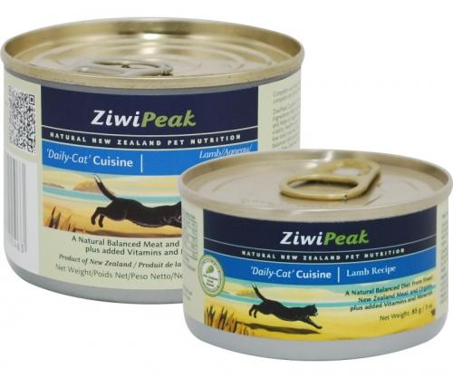 ZiwiPeak Lamb Cans for Cat 12/6 oz.