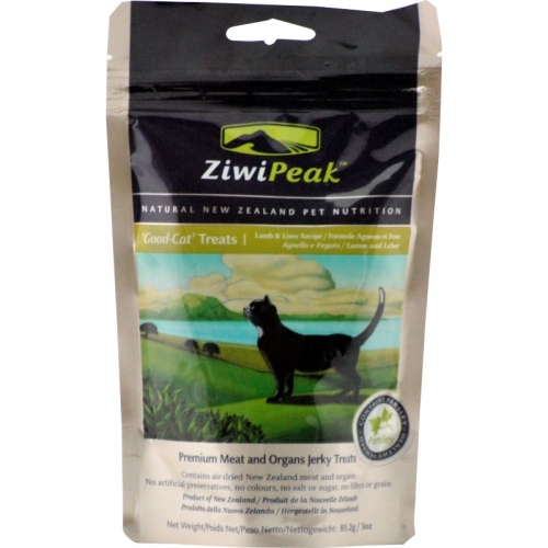 ZiwiPeak Lamb and Liver Cat Treat 3 oz.