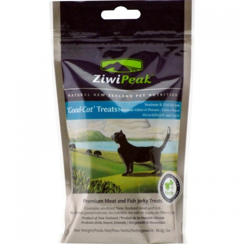 ZiwiPeak Venison and Fish Cat Treat 3 oz.