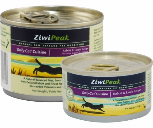 ZiwiPeak 'Daily-Cat' Cuisine Rabbit & Lamb Can 12/6oz