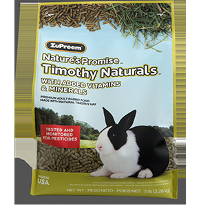 Zupreem Nature's Promise Rabbit Pellets 10 lb. Bag