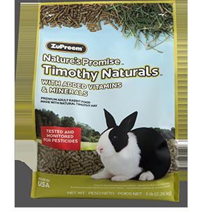 Zupreem Nature's Promise Rabbit Pellets 10#