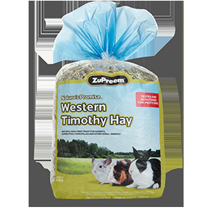 Zupreem Nature's Promise Western Timothy Hay 3/40 oz. Bag