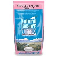 Natural Balance Reduced Calorie Dry Cat Food 4/6Lb