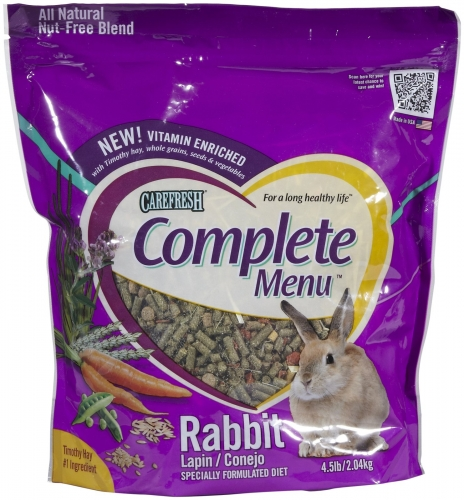 CareFRESH Complete Menu Rabbit 3/4.5#