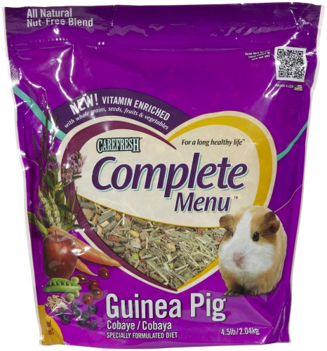 CareFRESH Complete Menu Guinea Pig 3/4.5#