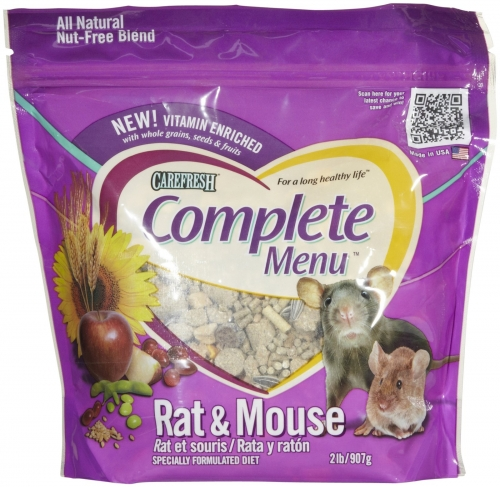 CareFRESH Complete Menu Rat/Mouse 6/2#