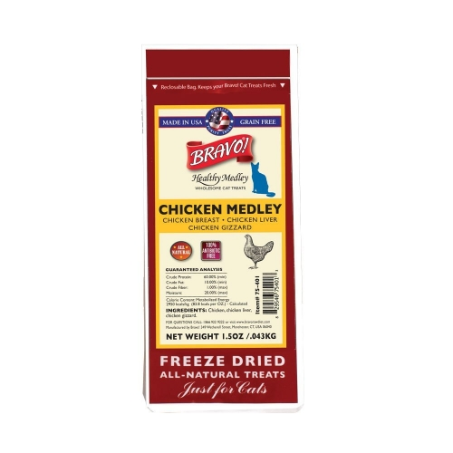 Bravo! Healthy Medley Chicken w/ Organs
