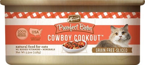 Purrfect Bistro Cowboy Cookout  5.5 oz Cat