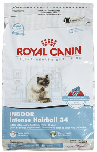 Royal Canin Indoor Intense Hairball Cat 15#