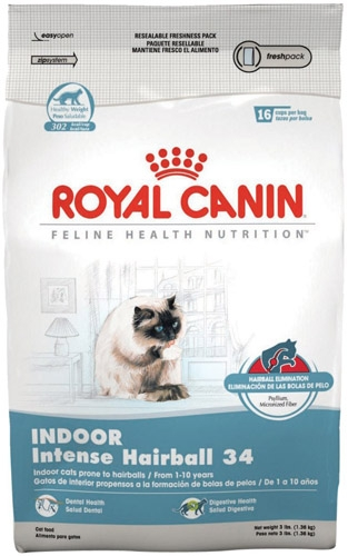 Royal Canin Indoor Intense Hairball Cat 4/3#