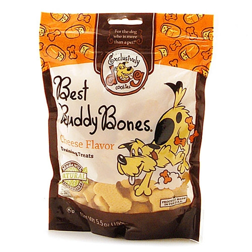 Exclusively Pet Best Buddy Bones Cheese 12/5.5 oz.