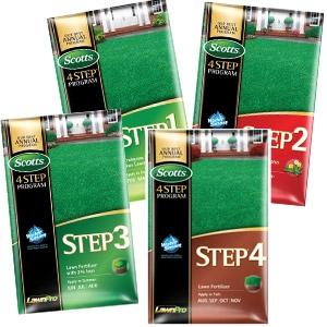 Scotts Lawn-Pro 4-step Program